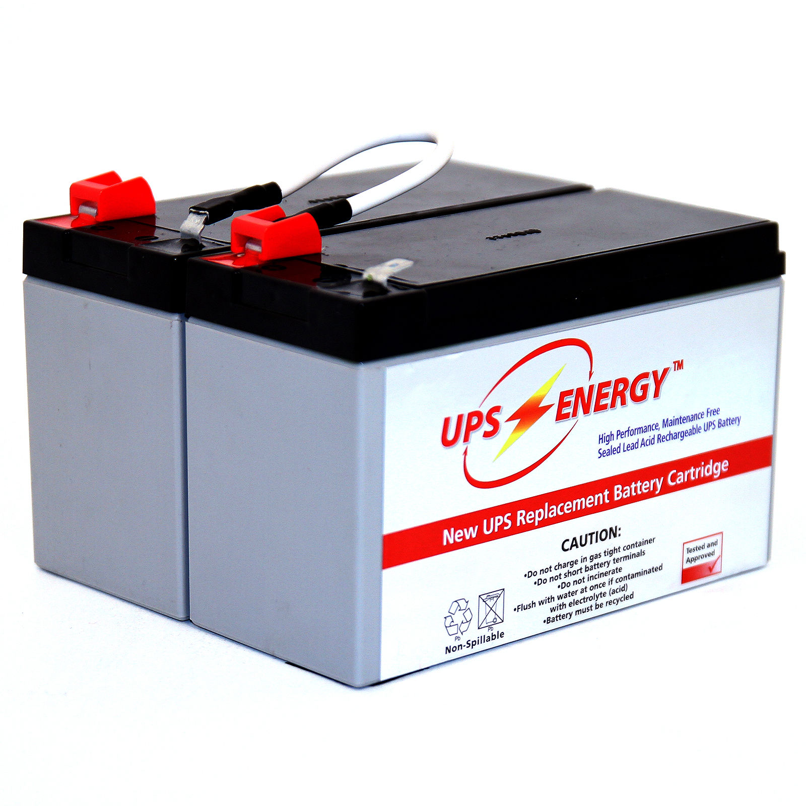 APC RBC6 Compatible Replacement Battery Cartridge 1 Year Warranty