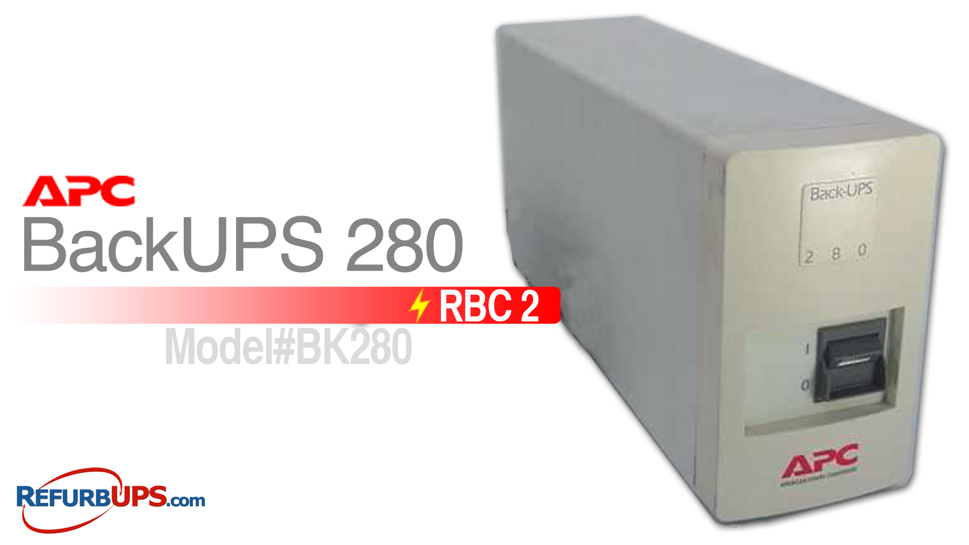APC RBC 2 in APC BK280