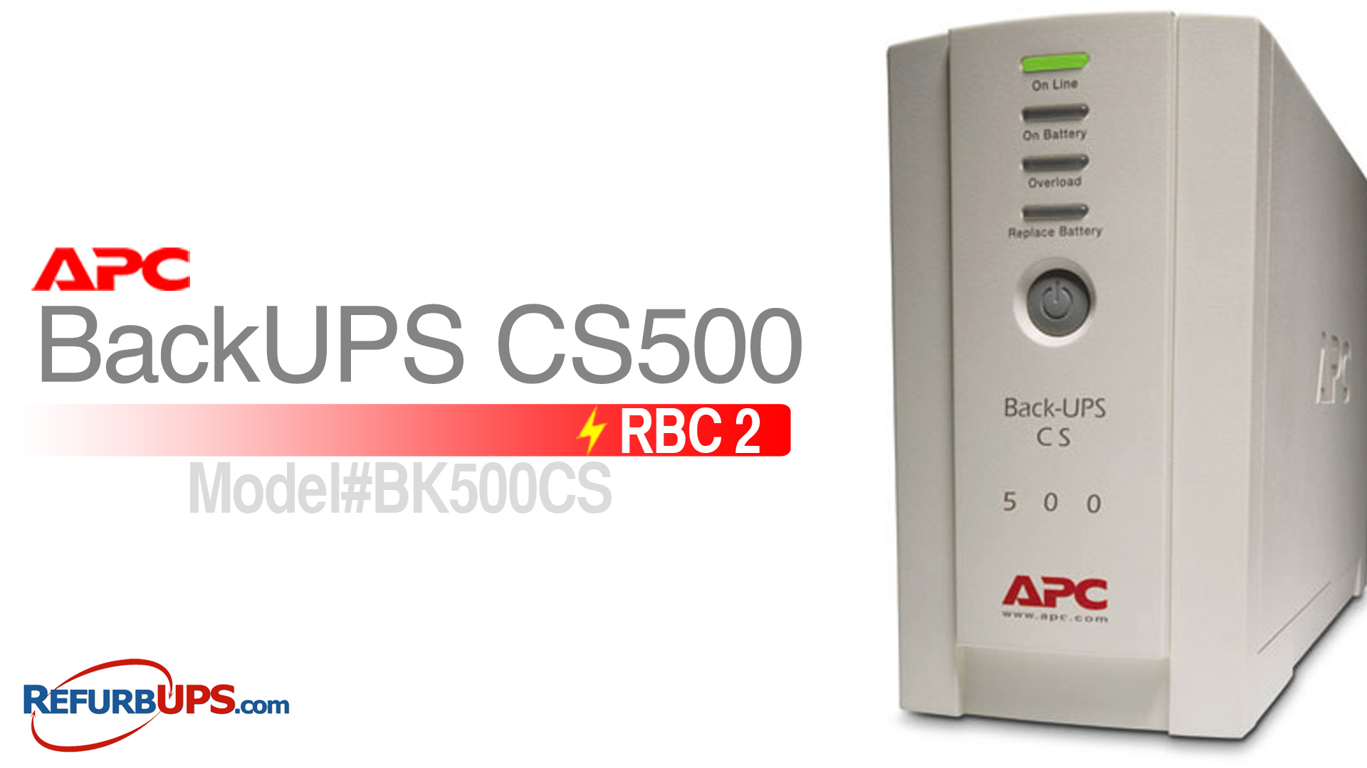 APC RBC 2 in APC CS500