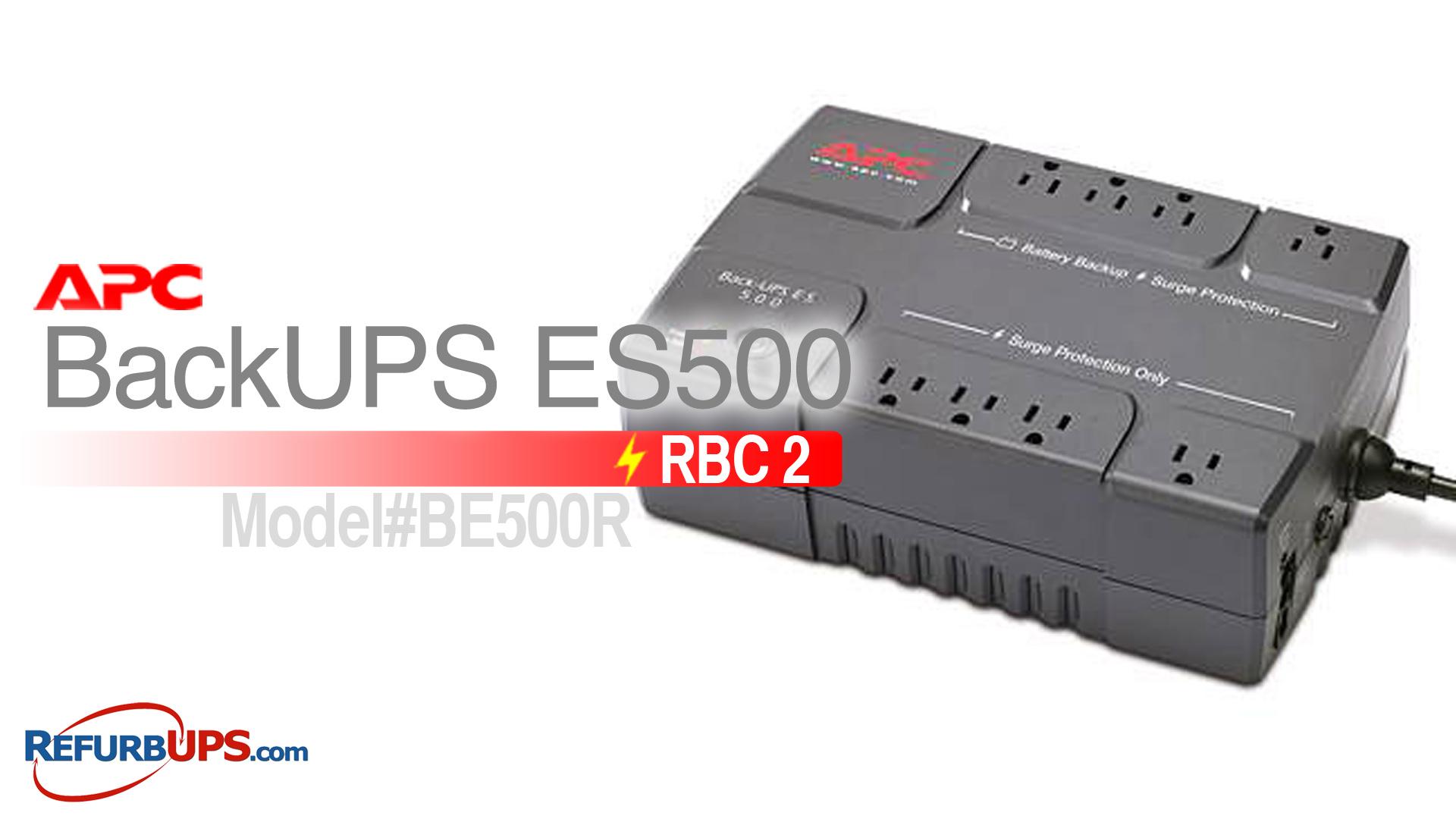 APC RBC 2 in APC ES500