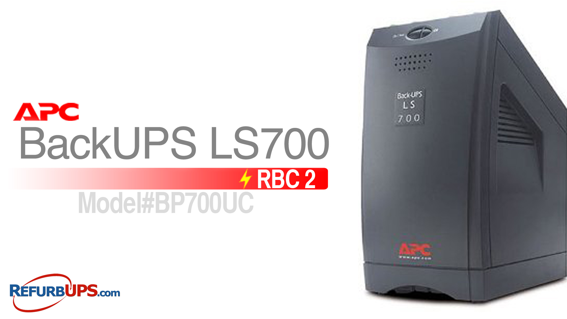APC RBC 2 in APC LS700