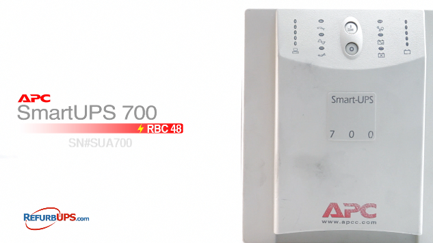 APC RBC  5 in APC SmartUPS 700