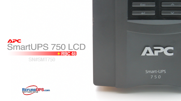 APC RBC 48 in APC SmartUPS 750LCD
