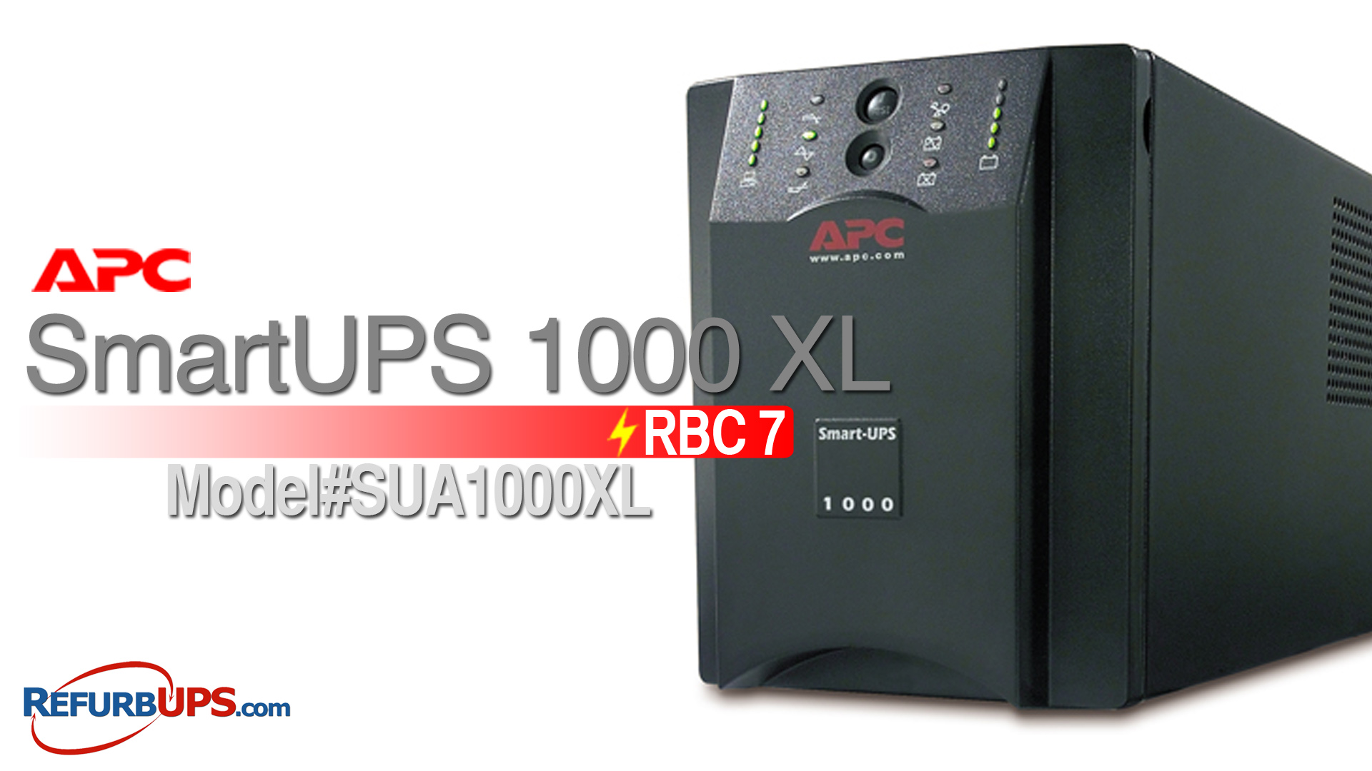 APC RBC  7 in APC SmartUPS 1000XL