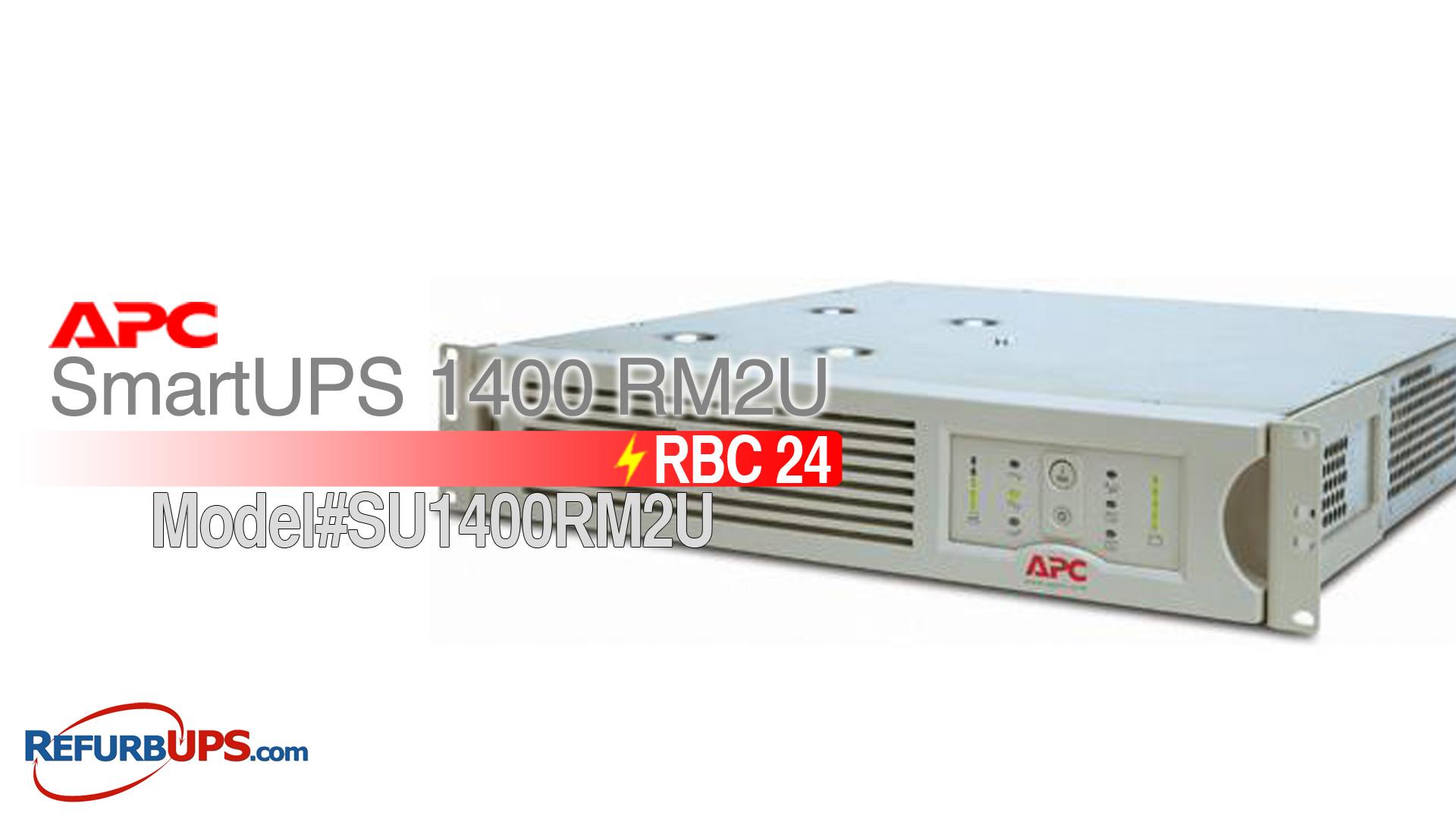 APC RBC 23 in APC SmartUPS 14002U