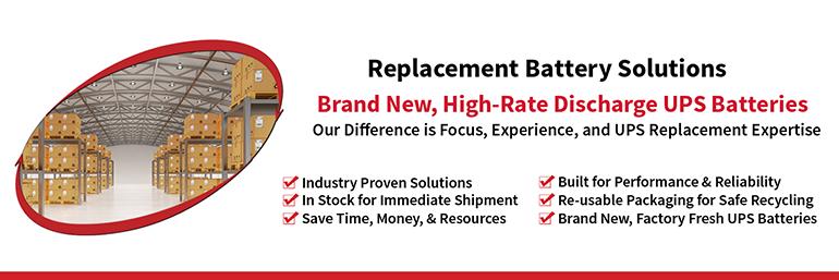 Replacement Battery Center | RefurbUPS com